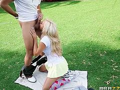 Cameron Dee is ready to learn everything about golf, but what she wants is to actually bang her teacher. She enjoyed some of the best drilling in her tight pussy.