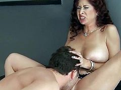 Tiffany Mynx arrested and dicked by James Deen