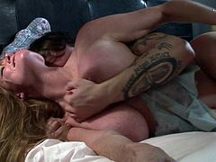 Deep penetration from young hunk's penis is what makes lusty milf, Darla Crane, to moan so fine