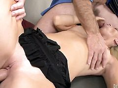 Brittany Angel B is extremely horny in this hardcore sex session featuring her getting pounded