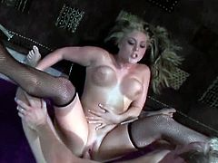 Gorgeous busty Bailey swallows cock, gets her big tits fucked and rides his big cock like crazy for a nice facial cumshot!