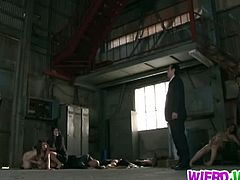 This is a complex story with Risa Murakami that involves kidnapping, forcing and rescuing. Forced to do dirty things by a group of men, this Asian girl lives a nightmare.