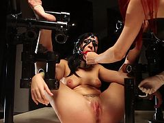 Dirty pleasures is what these slutty babes need during rough and full of passion BDSM femdom spectacle
