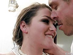 Mick Blue is horny as hell and cant wait any longer to slam Allie Haze