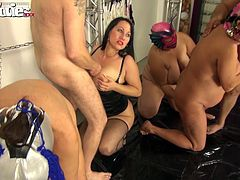 an extremely kinky orgy