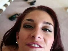 Be ready for extremely hot blowjob sex tube video. Naughty brunette demonstrates deepthroat skills on a pov camera. She is eager for cum and does her best.