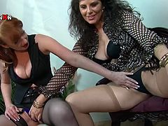 It's always amazing to see such classy, fine ass MILFs explore their extremely desirable pussies together with their fingers.
