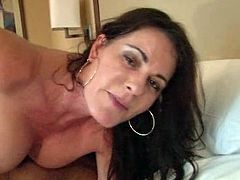Booty and amazing brunette with nice ass gets her dripping pussy fucked hard riding a cock in cowgirl pose. Have a look at thus bitch in All Porn Sites Pass xxx clip.