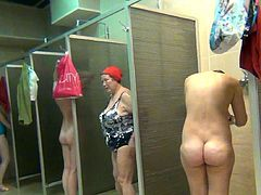 Voyeur must have astounding sensations by watching these nude ladies exposing their wet forms
