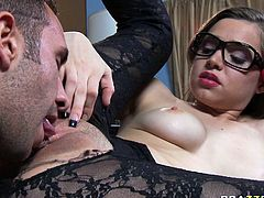 His massive dong penetrates her throat on a pov camera. Enjoy watching gorgeous sucking head who does her best in top rated Brazzers network sex tube video.