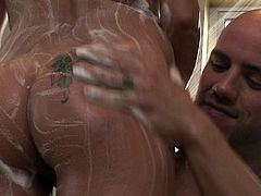 Soft massage gets Stephanie Cane really horny and in for some tasty dick to slide up her throat