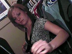 One of the hottest milf in Nebraska drinking wine and undressing herself in the bedroom. She loves to tease as she removes her black dress revealing her sexy body and toyed her sweet pussy.