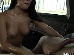 Asa Akira is on the edge of nirvana with cock juice in her mouth