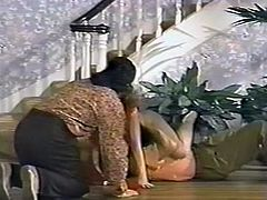 Attractive curvy brunette gets her tight asshole banged hard doggystyle. Have a look at this chick in the Classic porn sex clip.