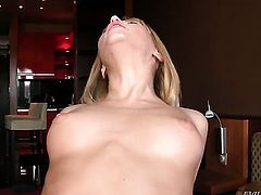 Aleska Diamond is one hot dick sucker that loves David Perrys love stick so much
