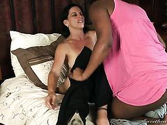 Wendy Breeze and Melissa Monet are two dykes that have sex for the camera with wild passion