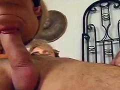Watch this hardcore scene where the slutty blonde Aubrey Adams is nailed by a guy's thick cock as you hear this hottie moan.