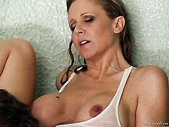 Julia Ann and Chastity Lynn are ready to eat each others pussy from dusk till dawn