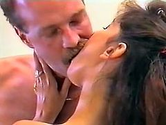 Light haired whorish twins with tiny titties and in white stockings got their hot vaginas fucked in mish and doggy positions hard. Look at that hot 4 some in The Classic Porn sex clip!