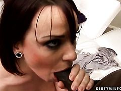 Mature and horny dude have a lot of fun in this blowjob action
