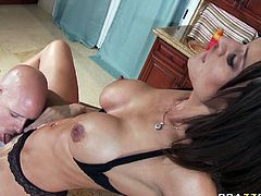 Slutty and amazing babe Franceska Jaimes gets pounded hard