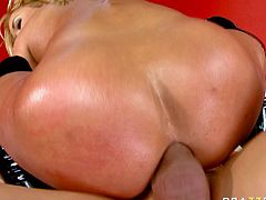Horny and attractive curvy bitch Shyla Stylez gets analfucked
