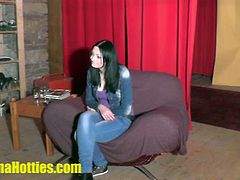 Klara is a hot brunette teen from the Czech Republic. She comes at a casting where she masturbates while filmed. She also gets fucked by the casting manager.