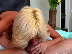 Stacked mature blonde Tara Holiday fucked so hard