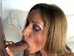 Melanie Gold wanted her ass fucked so hard, that she asked Moisex to break it. He fucked her in the piledriver position as well so that she can see his meat dive in her tight hole.