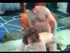The hubby of that dirty black haired wench had awesome weekend with his young lover in mountains. Meanwhile his filthy wifey got anal fucked in mish pose by her brutal lover. Watch that hard anal invasion in The Classic Porn sex clip!