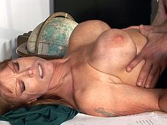 Mature with astounding nude forms, Darla Crane is close to getting nailed at school right by horny parent