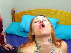 BBW Lesbians Needed Rubber Sheets For This One
