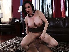 Diamond Foxxx with big tits gets treated like a fuck toy by hard cocked dude Keiran Lee