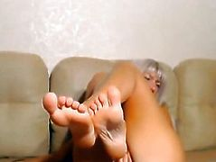 Hot Blonde Rides her Dildo to Orgasms
