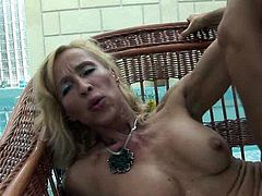 Filthy and hot blond haired woman with nice boobs gets her old cunt fucked hard riding the cock in cowgirl pose. Have a look at this chick in All Porn Sites Pass xxx clip.