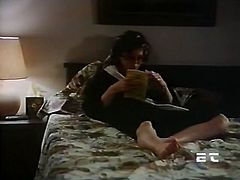 You are going to watch new sex video produced by The Classic Porn site. Horny dude fucks his brunette wife doggy style and makes her cum.