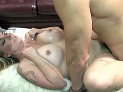 The amateur whore Jocelyn is a cock starved slut and she needs to get her urges fulfilled by multiple dudes. The sassy babe handles a group of guys.