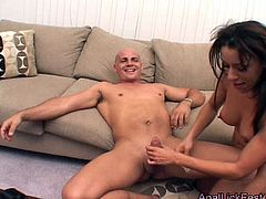 Spoiled nymphos Trixie Cas & Jenna Presley team up to fuck one lucky stud
