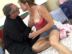 Lusty tart gets her fish taco licked and provides her lover with great blowjob. Then she gets her moist punani polished doggystyle and in missionary pose.