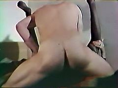 Raven haired whorish chick with hefty figure and in sexy stockings got her hot pussy pounded in missionary style and from behind hard. Look at that dirty sex in The Classic Porn sex clip!