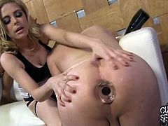 Penny Anal Fucks Her Cuckold While Getting Fucked.