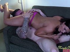 Leena Sucks More Big Cock