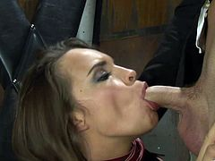 Kinky Girl in Bondage Hardcore Punished and Fucked