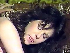 Small tittied brunette tramp enjoyed getting her throbbing pussy licked in missionary style on sofa.Later she deserved hard doggy style fuck. Look at that awesome sex in The Classic Porn sex clip!