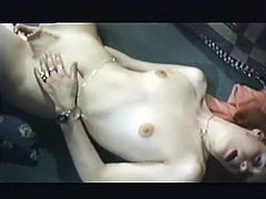Incredibly perverted skank gives her lover a nice blowjob