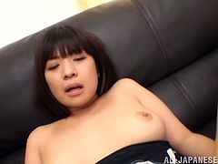 Have a look at this hardcore scene where this slutty Asian babe is fucked by two guys in a hot threesome.