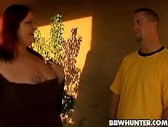 Demissis was not easy to pick up. She is a huge chick with monster boobs who is about to get fucked by a stranger who tries to persuade her into fucking with him.