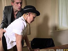 Check out this amazing hardcore scene where the busty blonde Loulou ends up covered by semen after being fucked by a massive cock.