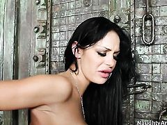 Angelina Valentine is a fuck addict that loves Billy Glides hard meat stick so much