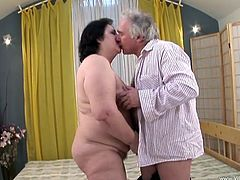 Horny mature amateur Marketa gets turned on in the shower and takes a hard cock up her hairy pussy before getting a messy cumshot.